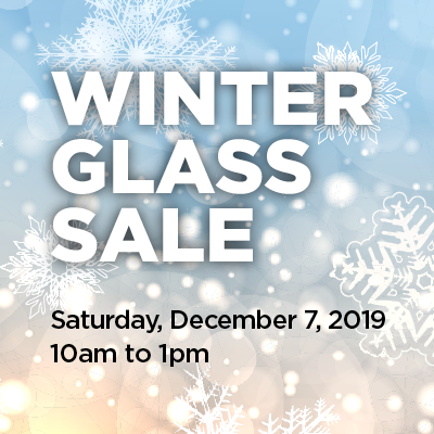 Winter Glass Sale