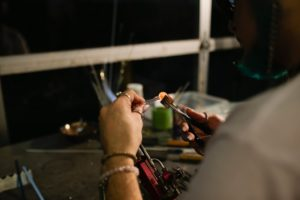 Hilltop Artists Beadmaking 4